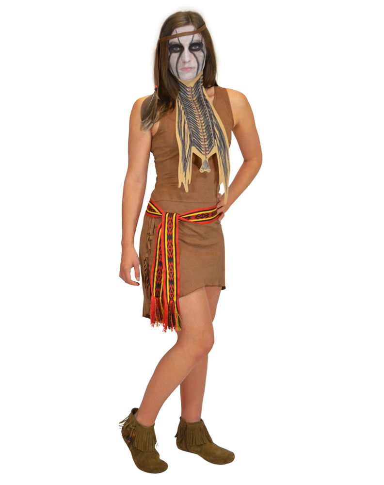Lone Ranger Tonto Adult Womens Costume (Ships for $1.99)
