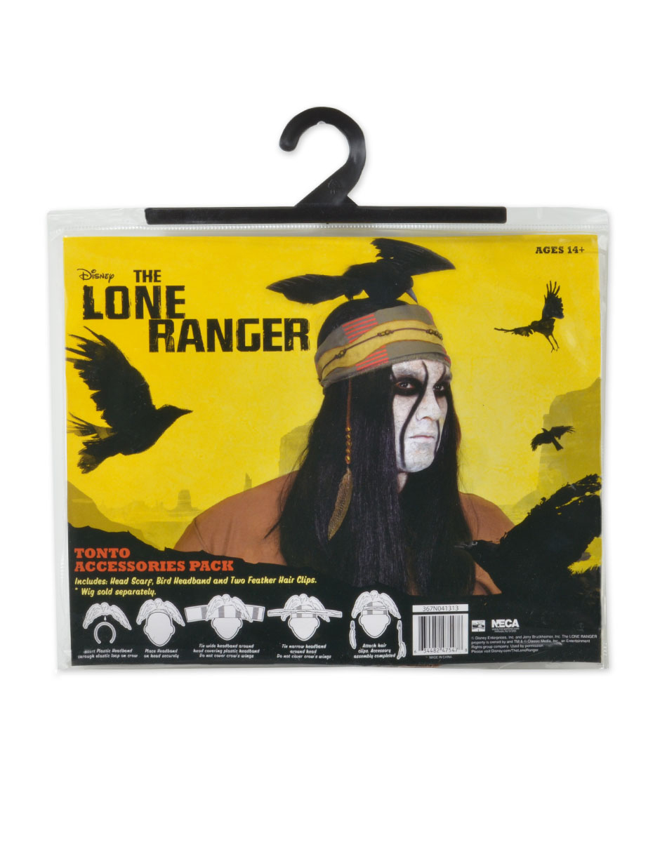 Lone Ranger Tonto Costume Accessory Kit by Neca