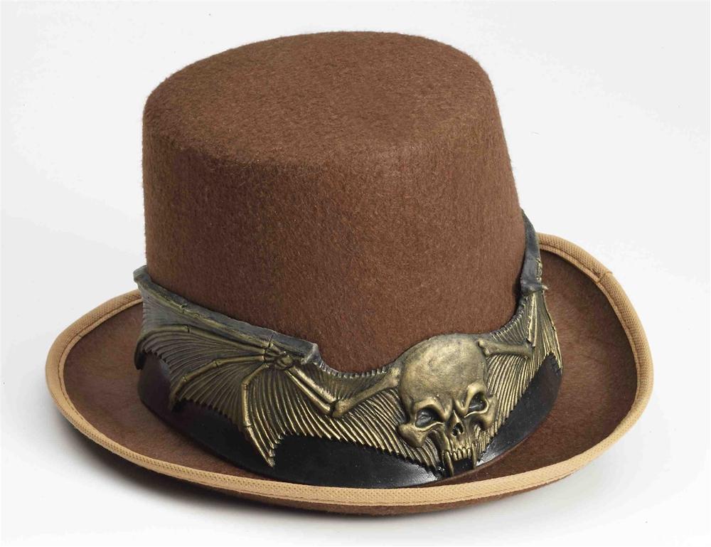Steampunk Skull Hat Band
