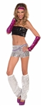 Club-Dazzle-Adult-Womens-Sequin-Tube-Top-(More-Colors)