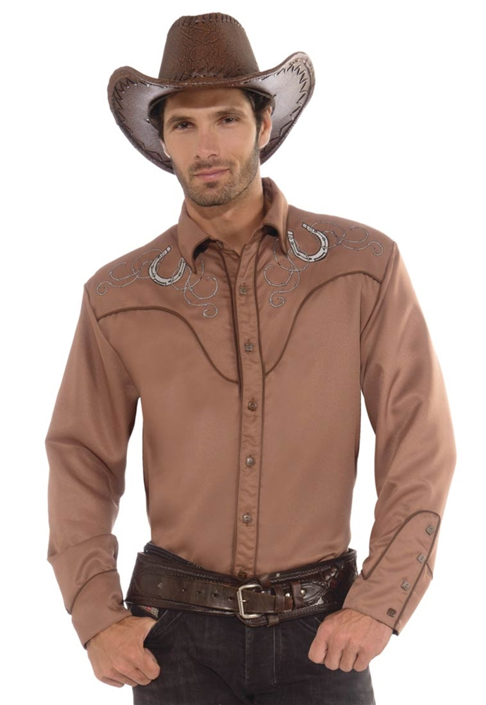 Western Deluxe Mens Cowboy Shirt