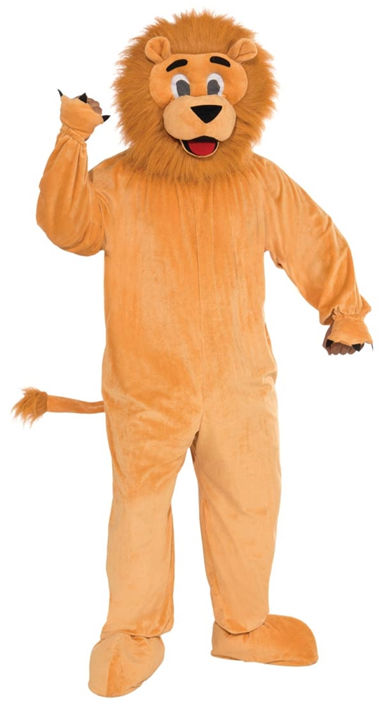 Lion Jumpsuit Mascot Costume
