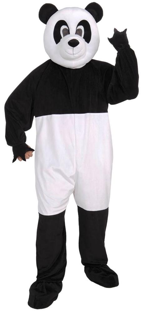 Panda Jumpsuit Mascot Costume
