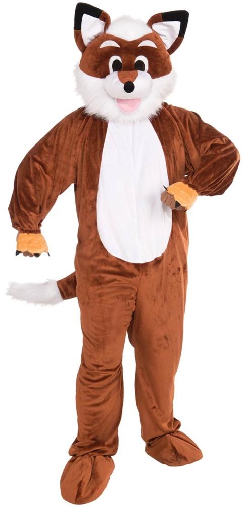 Scamper the Squirrel Costume Mascot Deluxe Plush Furry Animal Unisex Fast