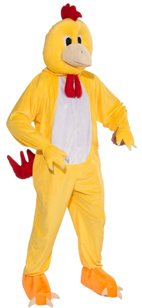 Chicken Jumpsuit Mascot Costume