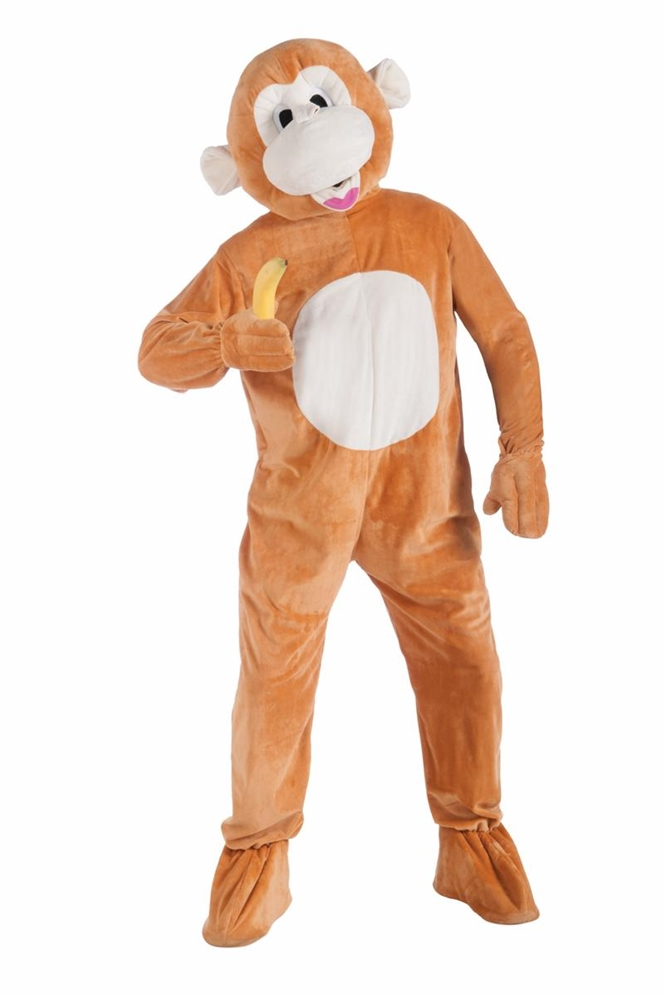 Monkey Jumpsuit Mascot Costume