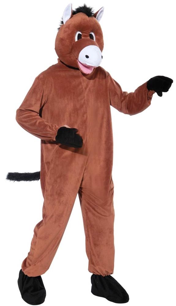 Horse Jumpsuit Mascot Costume