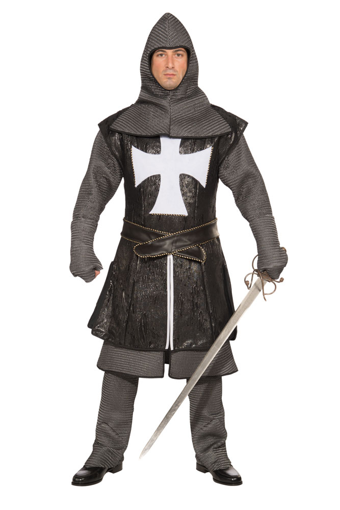 Black Knight Collection Adult Mens Costume