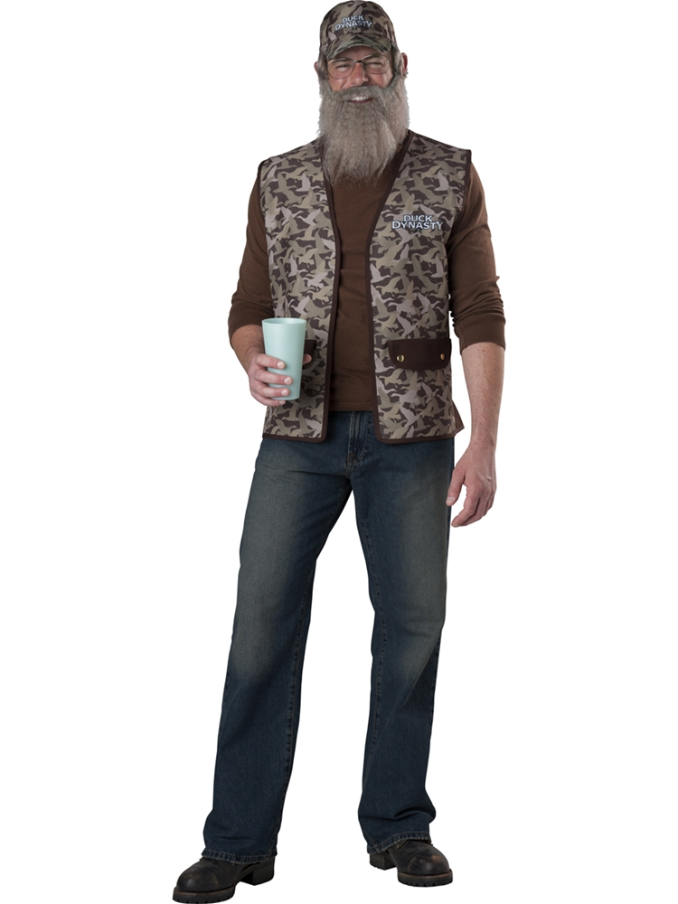 Duck Dynasty Uncle Si Adult Mens Costume
