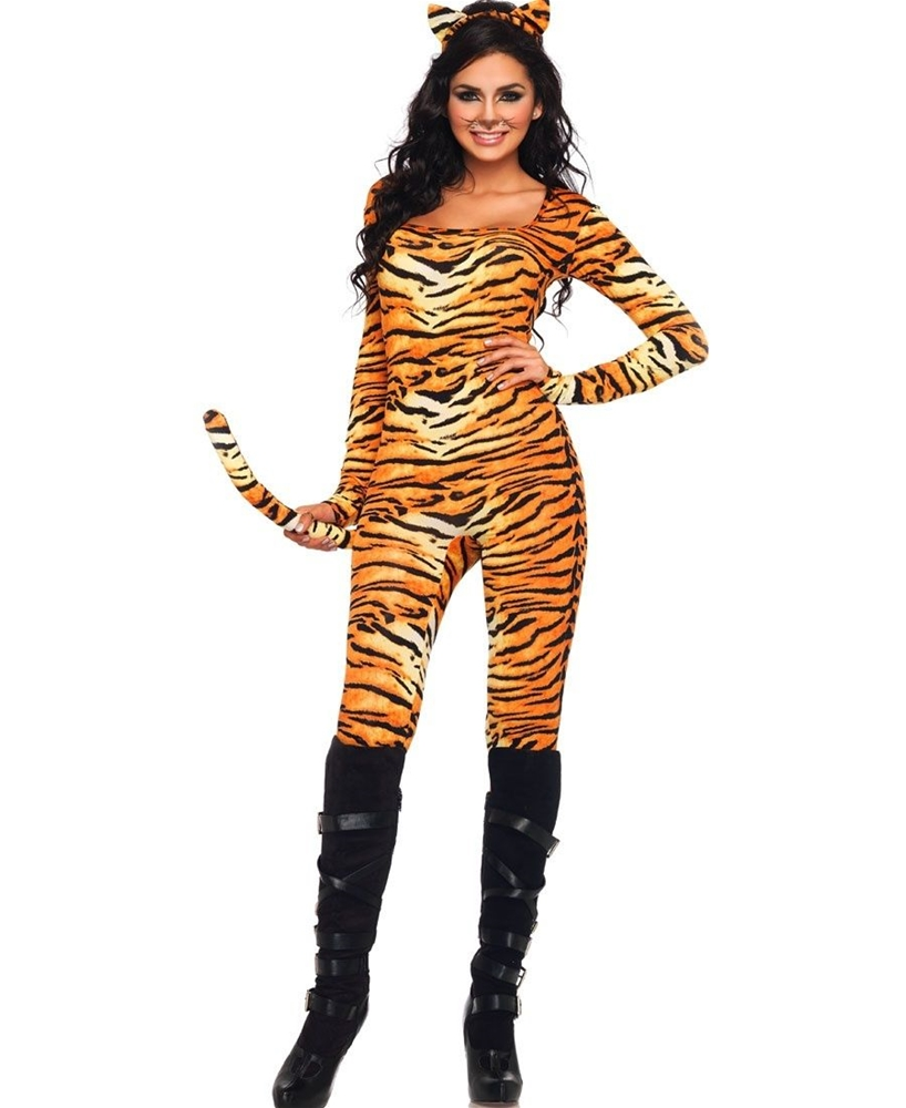 Wild Tigress Adult Womens Costume