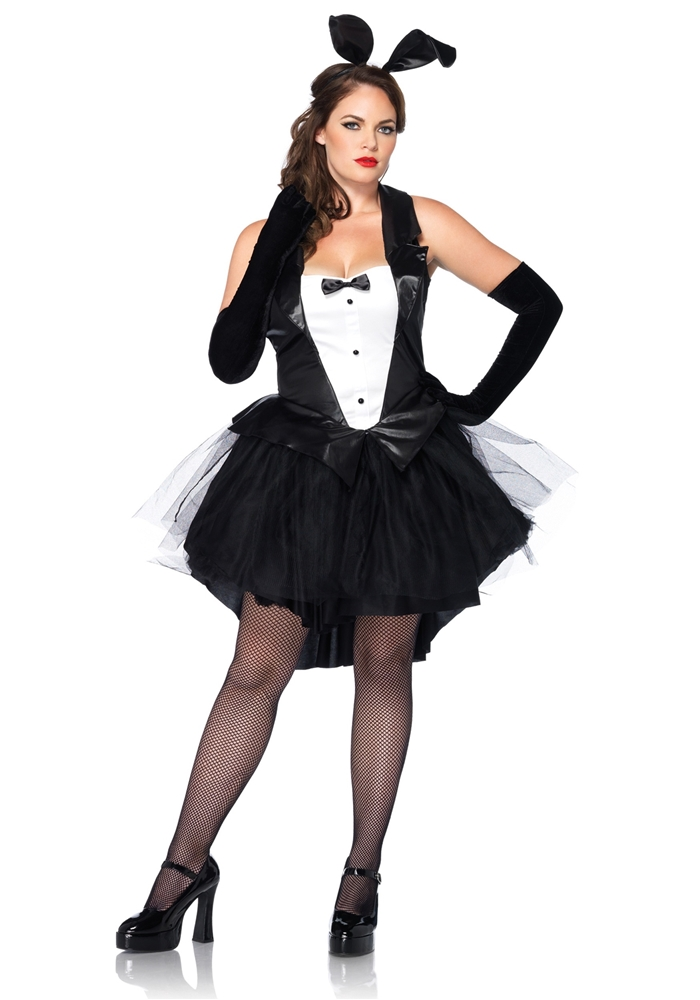 Tux & Tails Bunny Adult Womens Plus Size Costume