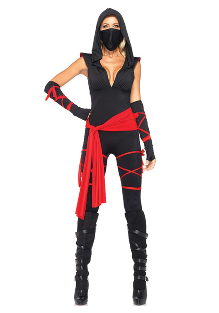 Deadly Ninja Adult Womens Costume by Leg Avenue