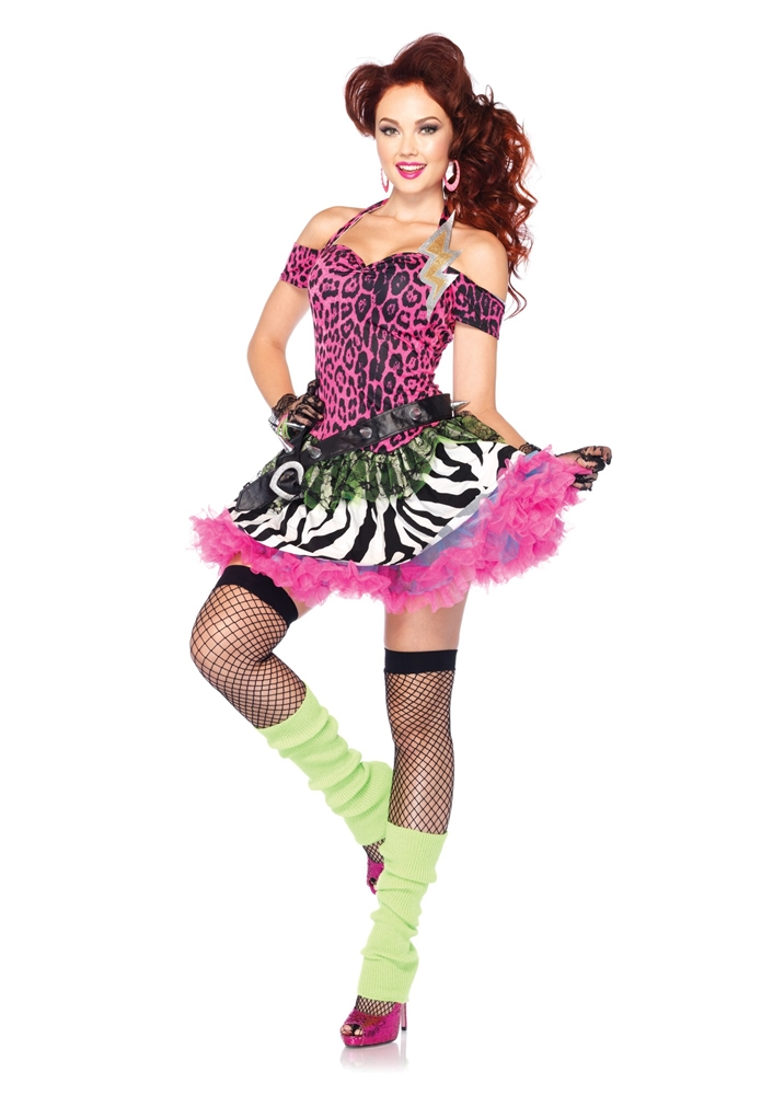 Totally 80s Amy Adult Womens Costume