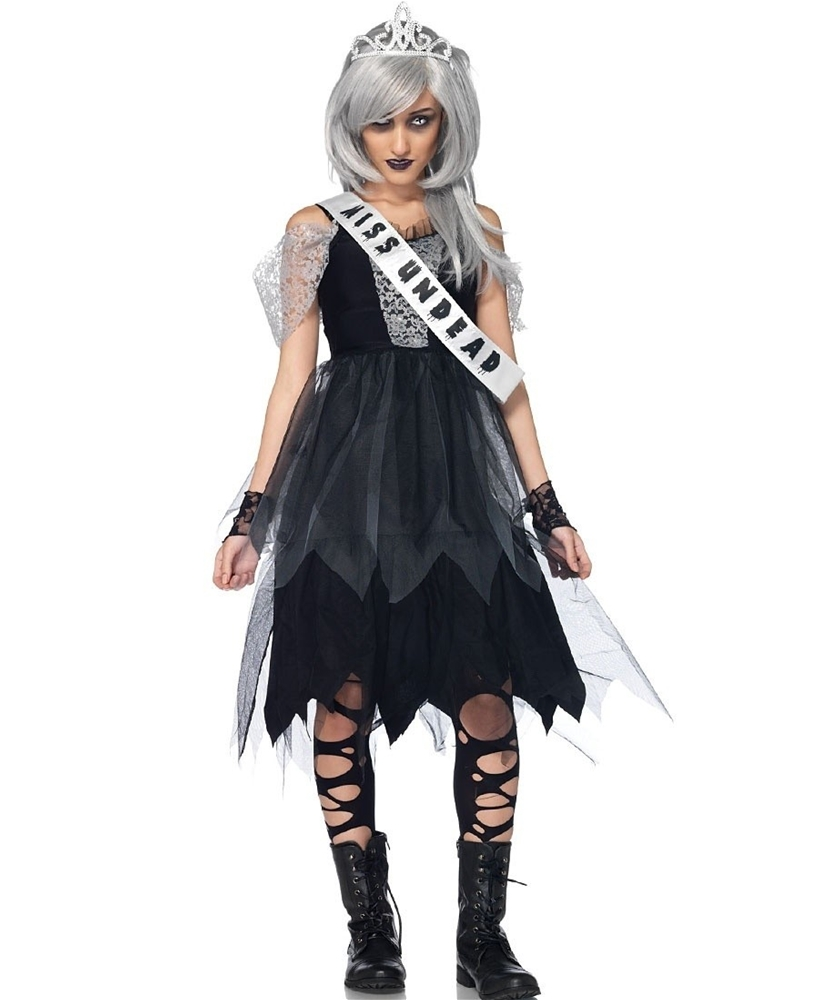 [Zombie Prom Queen Juniors Costume] (Zombie Queen Costumes)