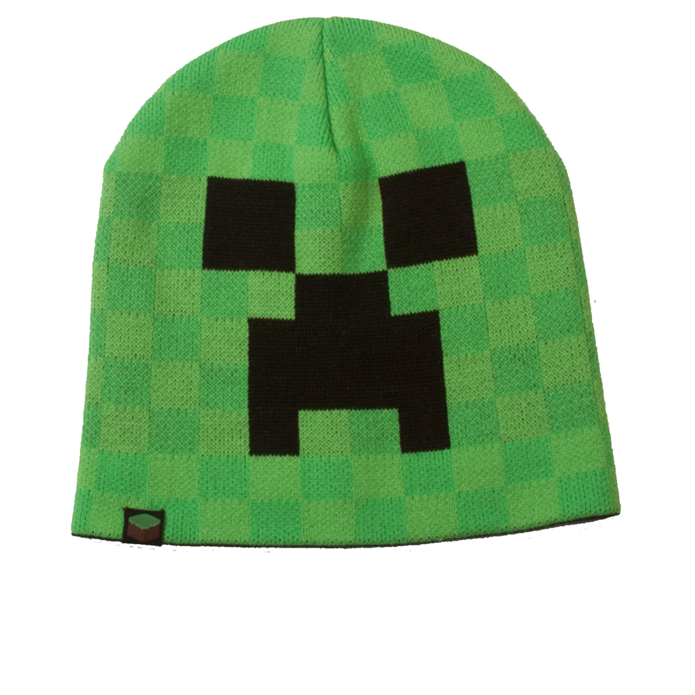 Image of Minecraft Creeper Face Beanie
