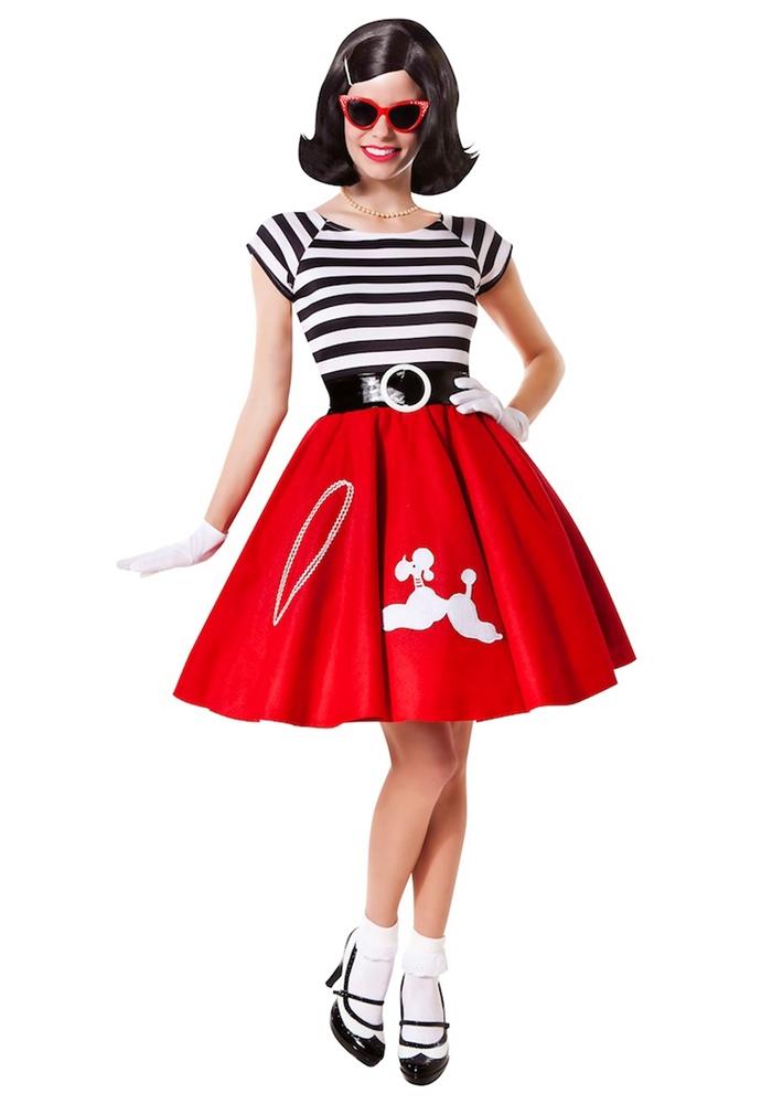Image of 50's Ooh La La Adult Womens Costume
