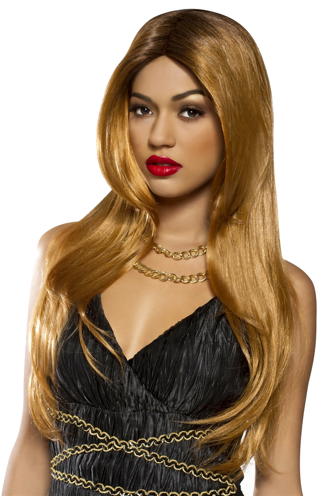 Red Carpet Golden Brown Wig
