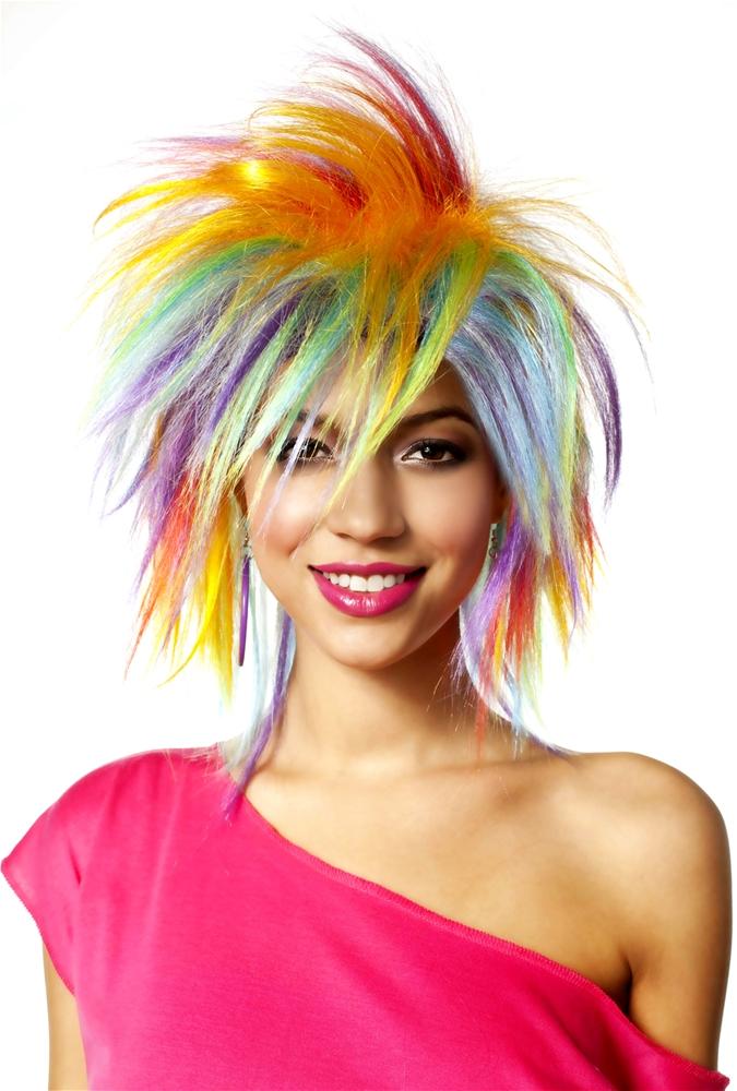 Funky Fresh Rainbow Wig