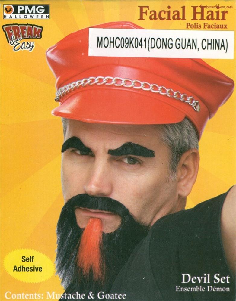 Devil Moustache