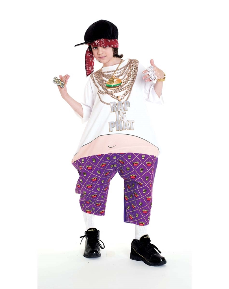 Phat Rapper Child Costume