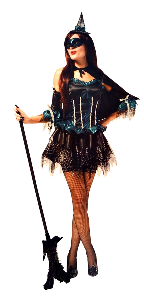 Masquerade Witch Adult Womens Costume