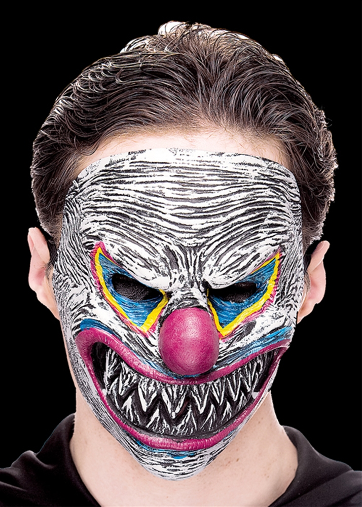 Night Torturers Evil Clown Half Mask