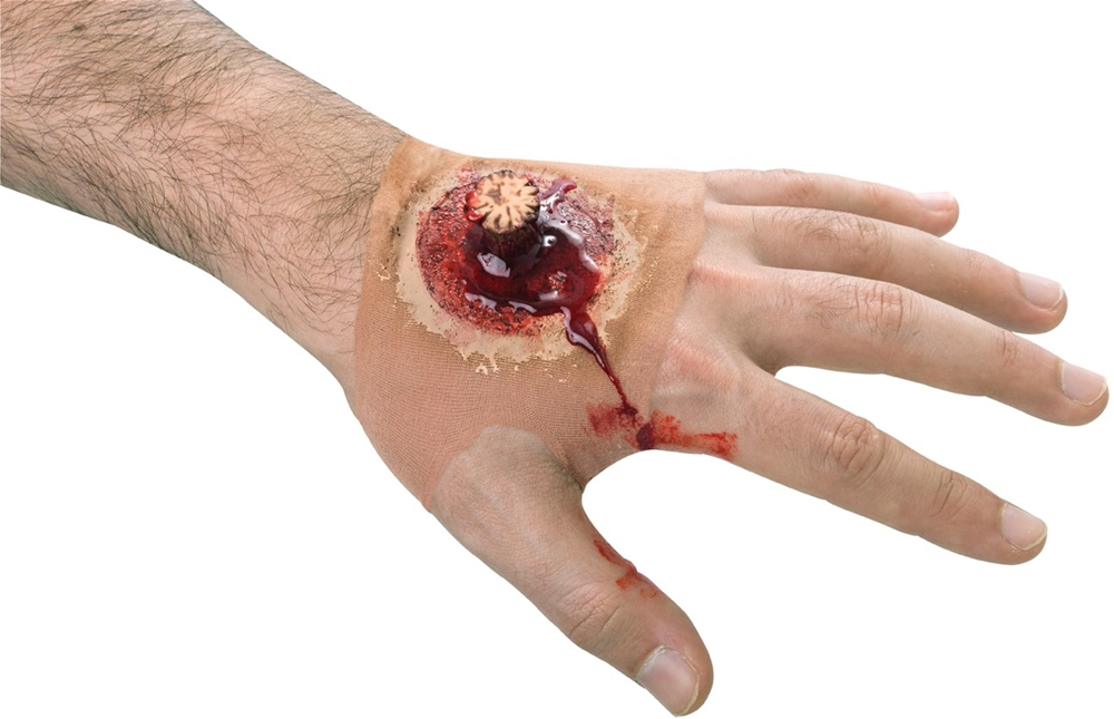 Splintered Hand Wound Sleeve by Paper Magic