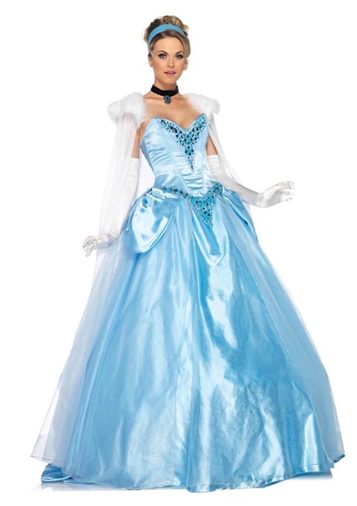 Disney Cinderella Deluxe Womens Costume