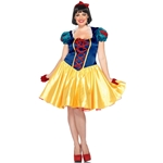 Classic Snow White Plus Size Adult Womens Costume
