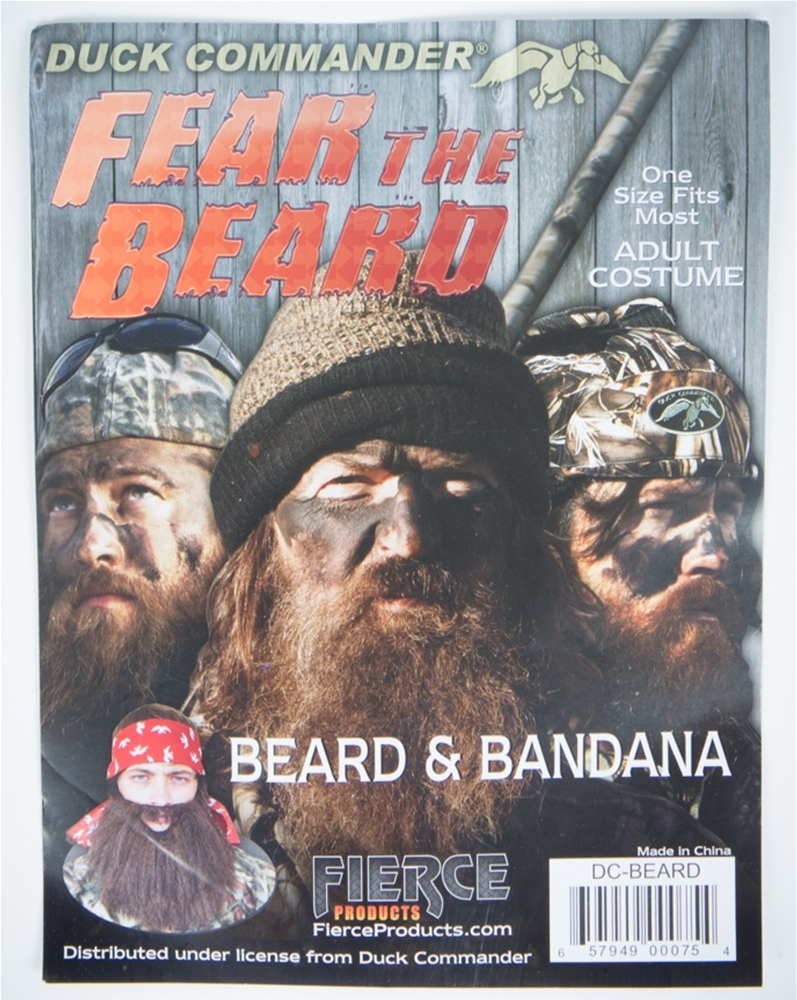 Duck Dynasty Commander Beard & Bandana (Ships for $1.99)