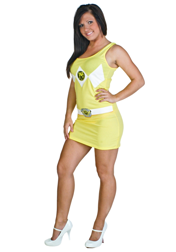 Power Ranger Yellow Tank Dress