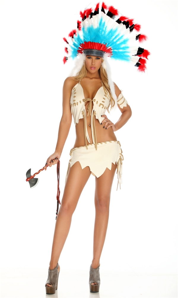 Indian Tribal Tease Adult Womens Costume