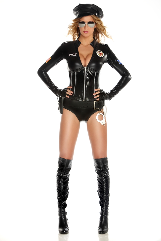 Mrs. Officer Adult Womens Costume