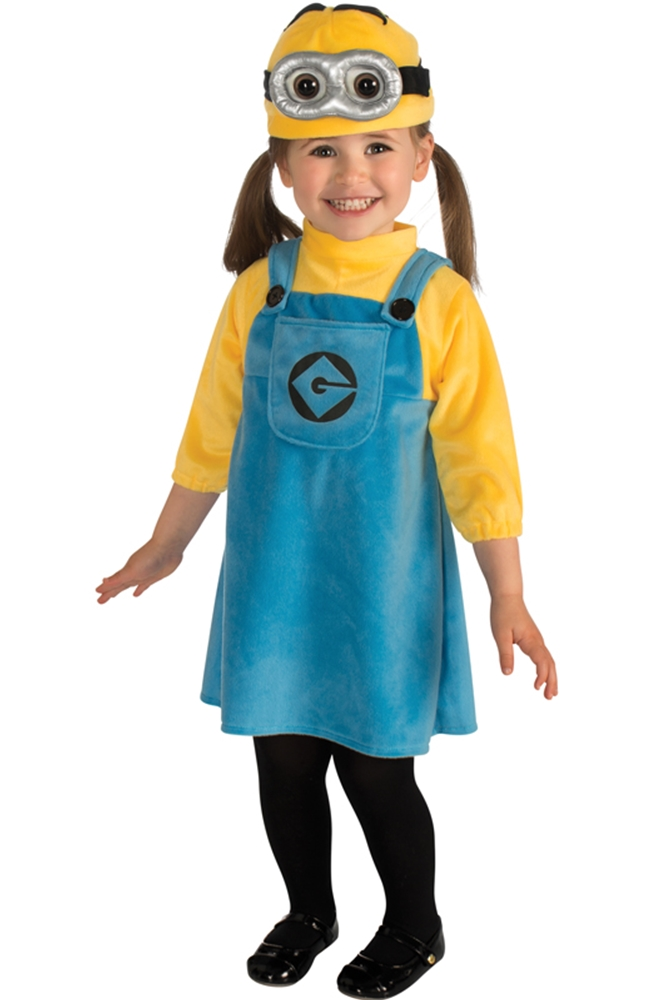 Despicable Me 2 Minion Infant Dress Costume