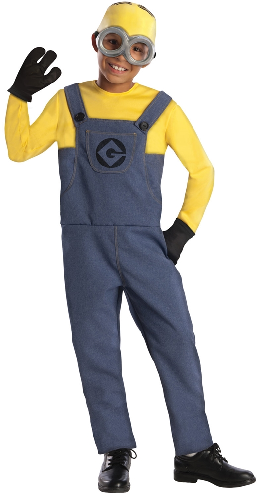 Despicable Me 2 Minion Dave Child Costume