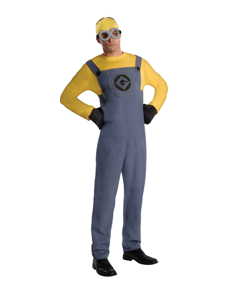 Despicable Me 2 Minion Dave Adult Mens Costume