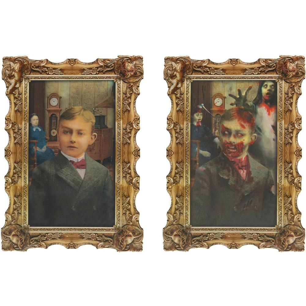 Rotten Zombie Lenticular Portrait