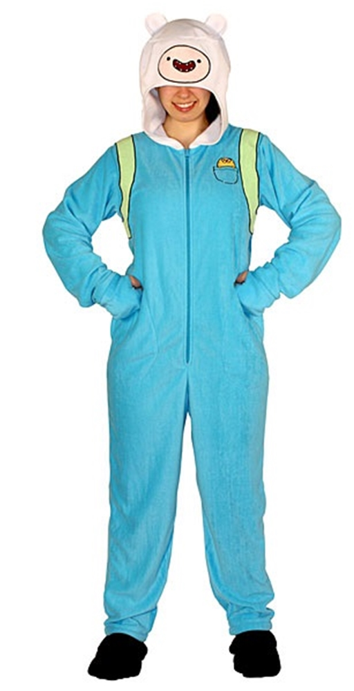 Image of Adventure Time Finn The Human Onesie