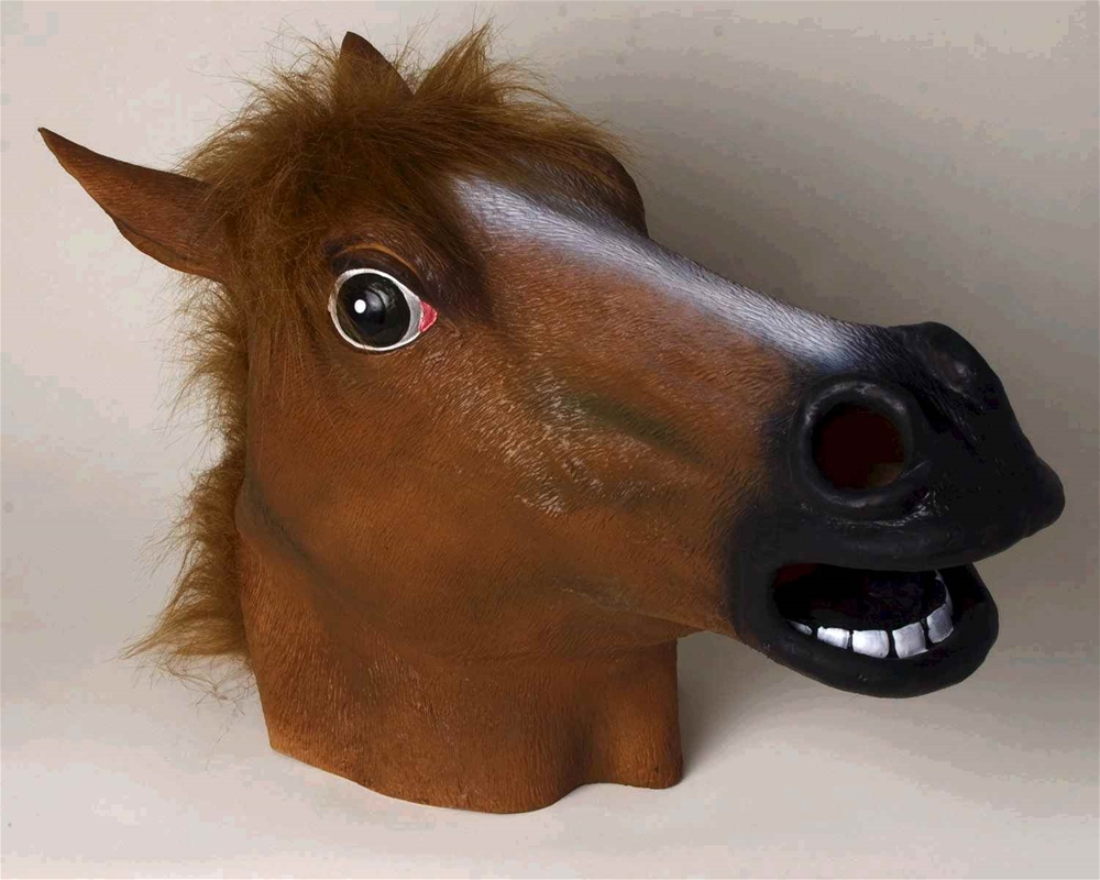 Horse Deluxe Latex Mask