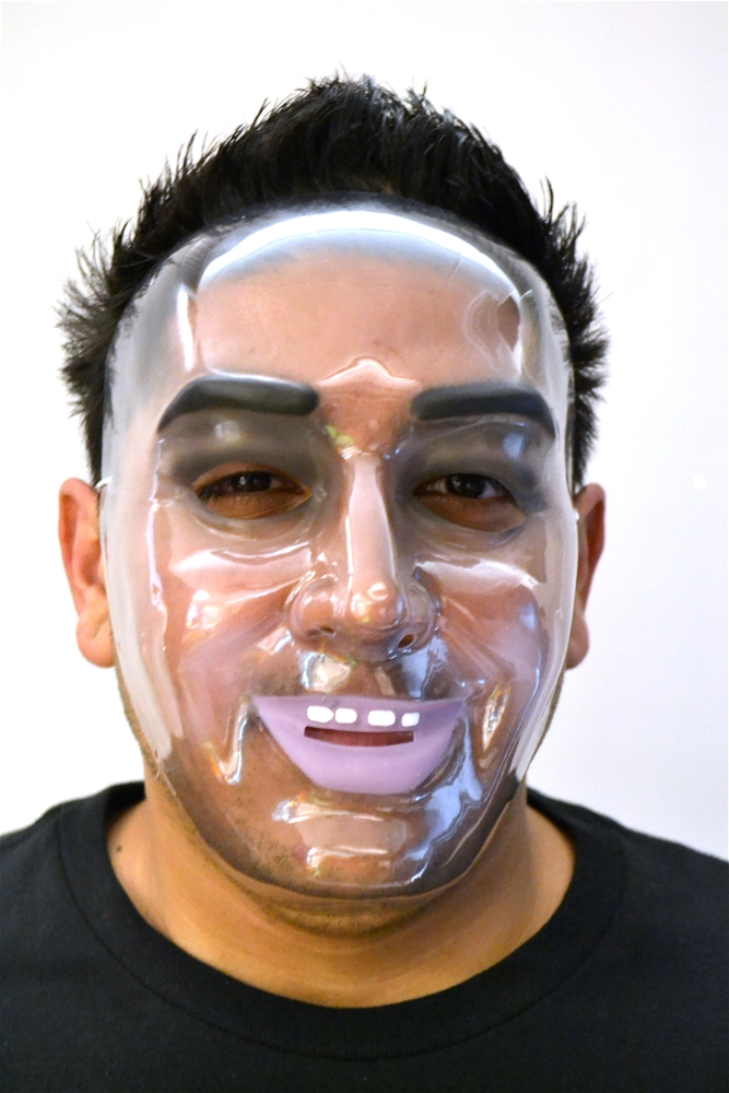 Transparent Adult Mens Mask