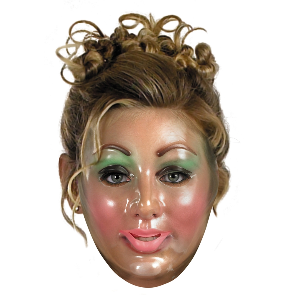 Transparent Adult Womens Mask