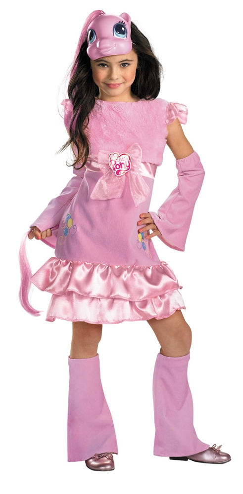 My Little Pony Pinkie Pie Deluxe Girls Costume