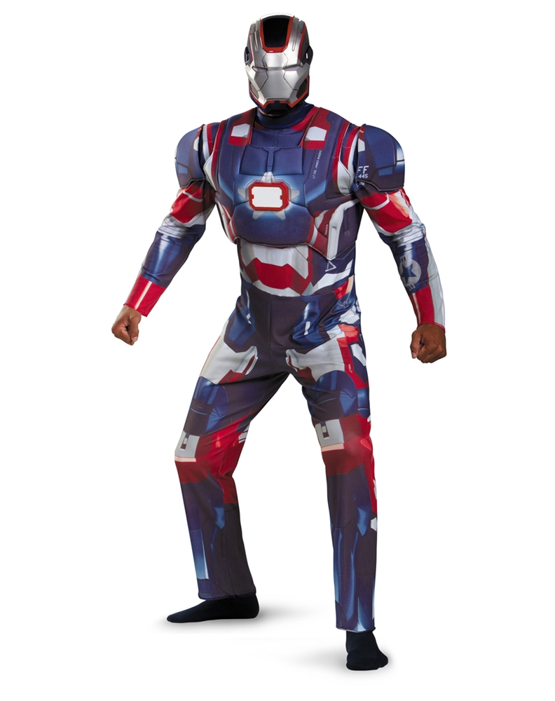 Iron Man Patriot Adult Mens Costume