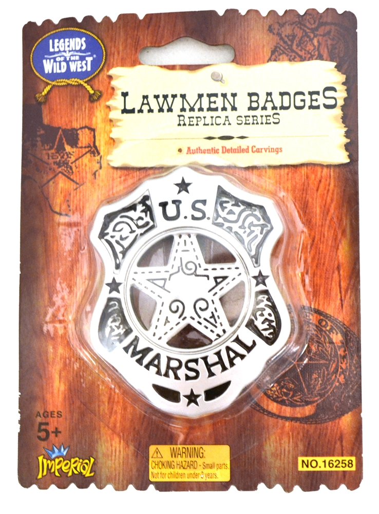 Lawman Badge (More Styles)