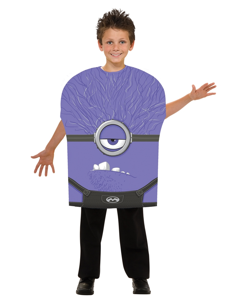 Despicable Me Evil Minion Child Costume