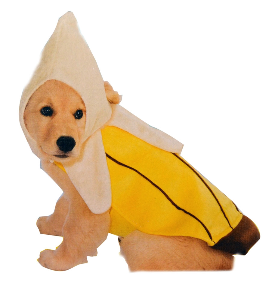 Banana Costume for Dogs