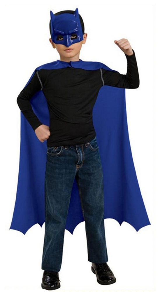 Child Batman Costume Cape and Mask