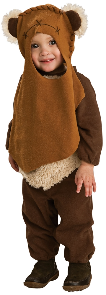 [Star Wars Wicket the Ewok Infant & Toddler Costume] (Ewok Star Wars Costume)