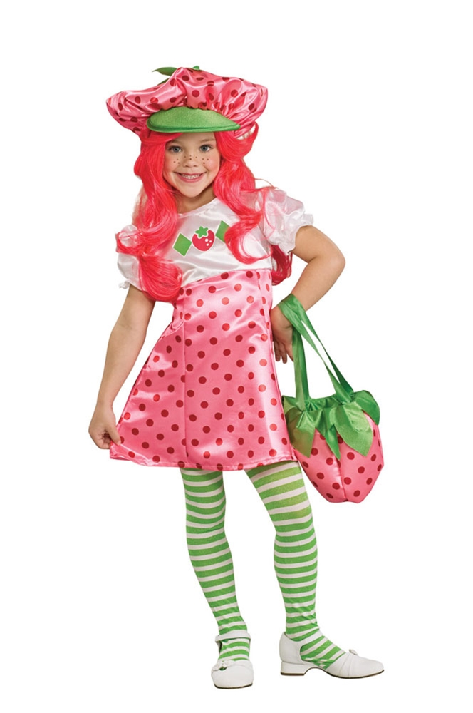 Strawberry Shortcake Deluxe Girls Costume by Rubies