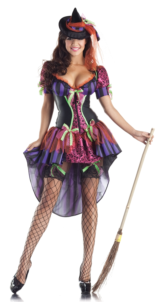 Witch Body Shaper Adult Womens Costume